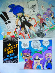 Splat Comic: High Score part 2 ( Page 3 ) by Squidtoonist