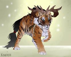 Tiger hybrid #5 CLOSED by Kouvinxx