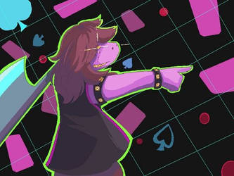 Susie fan art by sovenkaiv