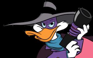 Darkwing Duck - headshot by Miss-Mal