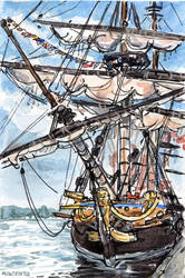 L'Hermione's Bow by angelac