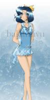 Sailor Hermes by bakamiyu