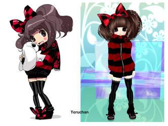 my chibi:3 by Terytan