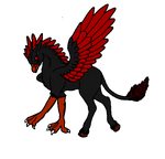 hippogryph adopt (closed) by Bluesky-of-Fire
