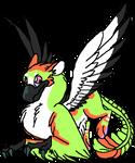 Maple Digi commission 4 little-Raven-wing by Bluesky-of-Fire