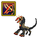 Taboo 'GrimaDraken' PokeSprite AT by Bluesky-of-Fire