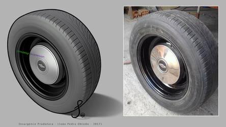 Opala Wheel - Brazilian Muscle Car by DemoDesign