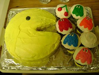 PAC-MAN CAKE by Chichok