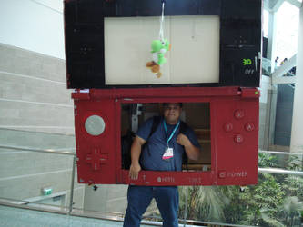Really Large Nintendo 3DS by Chichok