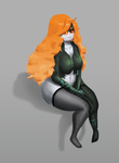 Midna in pantyhose by Stone-Heron