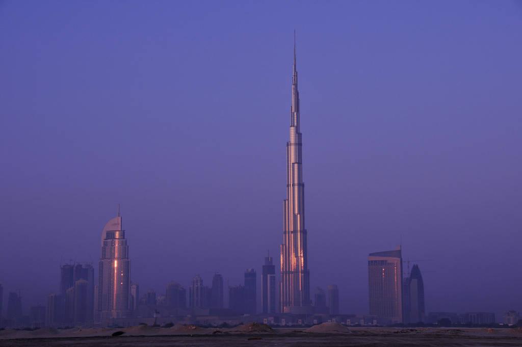 Burj Khalifa at Sunrise by VerticalDubai