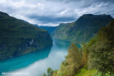 Geiranger Fjord by VerticalDubai