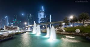 Trade Center Roundabout by VerticalDubai