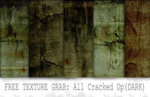 All Cracked Up grunge textures by Mephotos