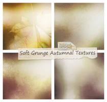 Soft Grunge Autumn Textures by Mephotos