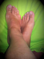feet and green background 4 by Netsrot1971