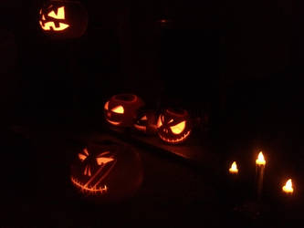 Pumpkin Patch 2 by DarkAngelJo