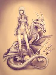 Dragon by Aylot