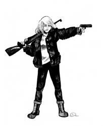 Gangsta girl by W-Dobro