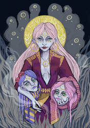 Three sisters by W-Dobro