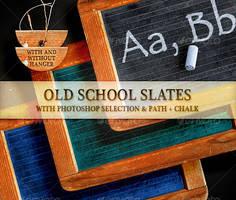 Old School Slates by boeenet