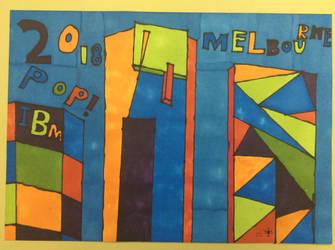 POP Melbourne 2018 (school project) by Techno-Universal