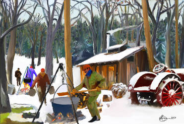 Maple Sugaring by xxchef