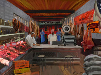 Old City Meat Market by xxchef