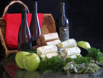 BMR Wine and Cheese by xxchef
