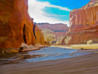 Canyon De Chelly The Gift of Peace and Tranquility by xxchef