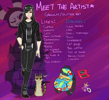 Meet the Artist by CurohKrow
