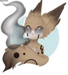 Smoking [Payment 1/5] by xXKaysi--DrawsXx