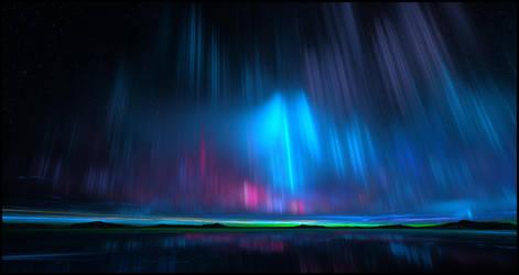 Northern lights by YuryKyssa