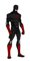 YJ style Daredevil redesign (Black) by shorterazer