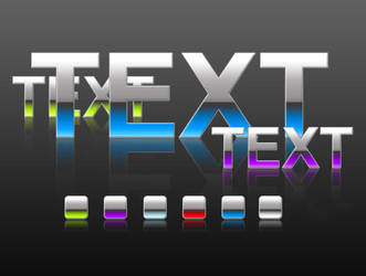 Free Shiny Text Styles by ArtoriusGothicus
