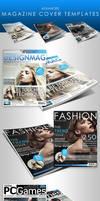 Adv. Magazine Cover Templates by ArtoriusGothicus