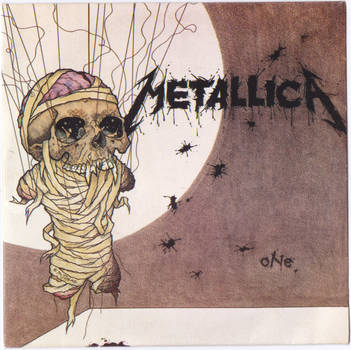 Metallica : One : 9'' Single (1989) 874.066-7 by straingedays