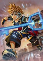 FanArt5 -Sora Kingdom Heart by Triedg13 by Triedg13
