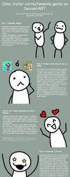 Como tratar gente en dA by Pascua-Tanya