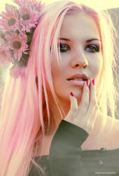 PinkMari by photomodification