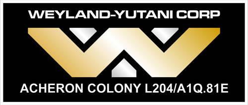 Weyland Yutani Logo by CmdrKerner