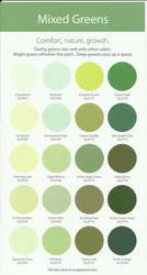 Glidden Mixed Green swatch by Celtiga
