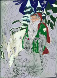 Father Christmas by Celtiga