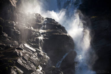 Krimml Falls by waterchild23