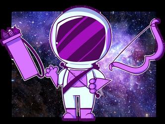 Space Mascot by Trollan-gurl22