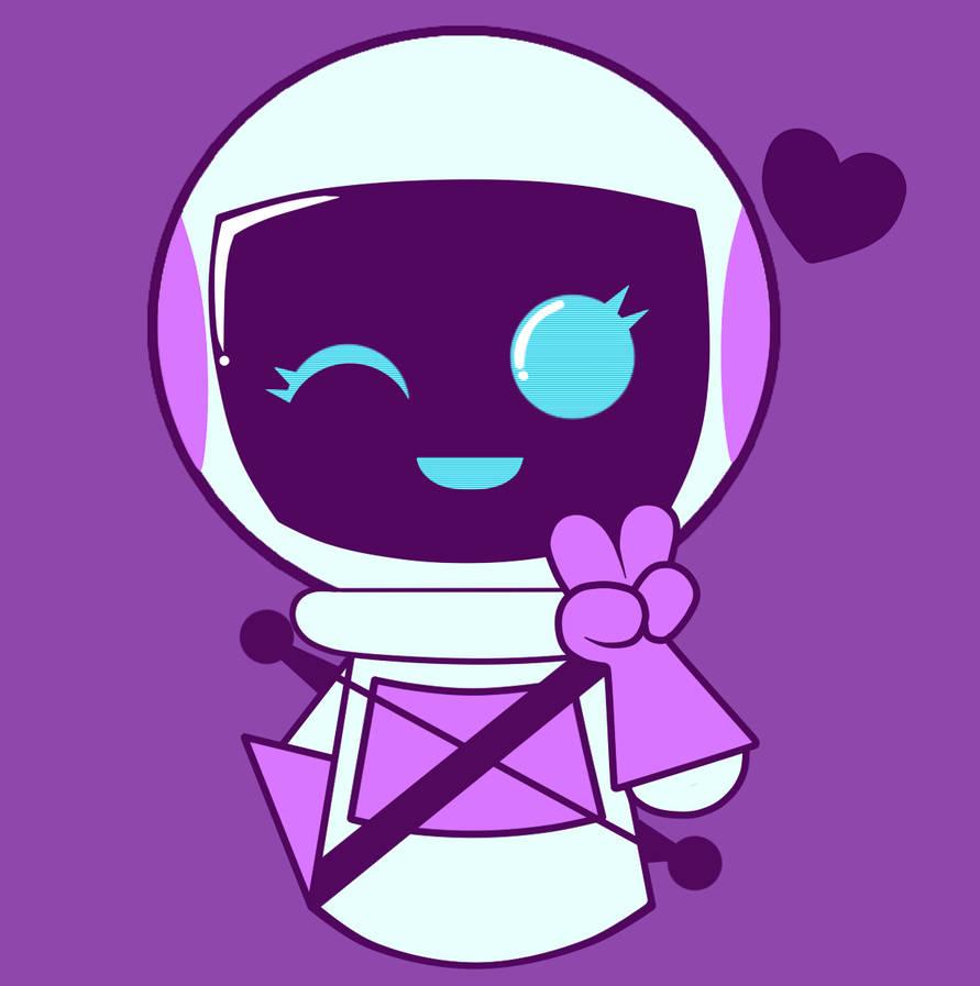 Space Mascot Icon by Trollan-gurl22