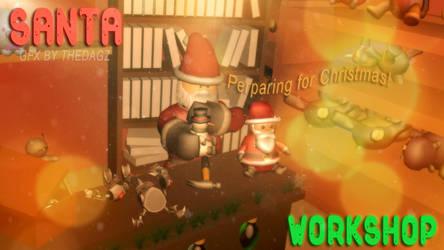 SantaWorkshop by Thedagzz