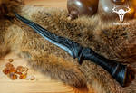 Ebony Dagger Replica - Skyrim by Folkenstal