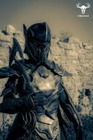 Skyrim Ebony Armor - cosplay photo No. 6 by Folkenstal