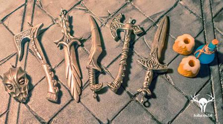 Skyrim jewelry - Skyrim Miniatures by Folkenstal